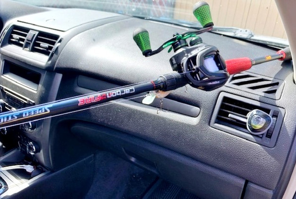 Lews carbon fire fishing rod