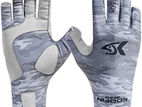 Best UPF50 Koofin Fishing Gloves