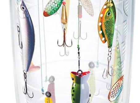 Fishing Lures Tumbler 16 oz