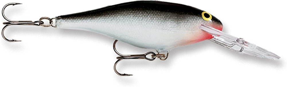 Rapala shad rap lure silver color