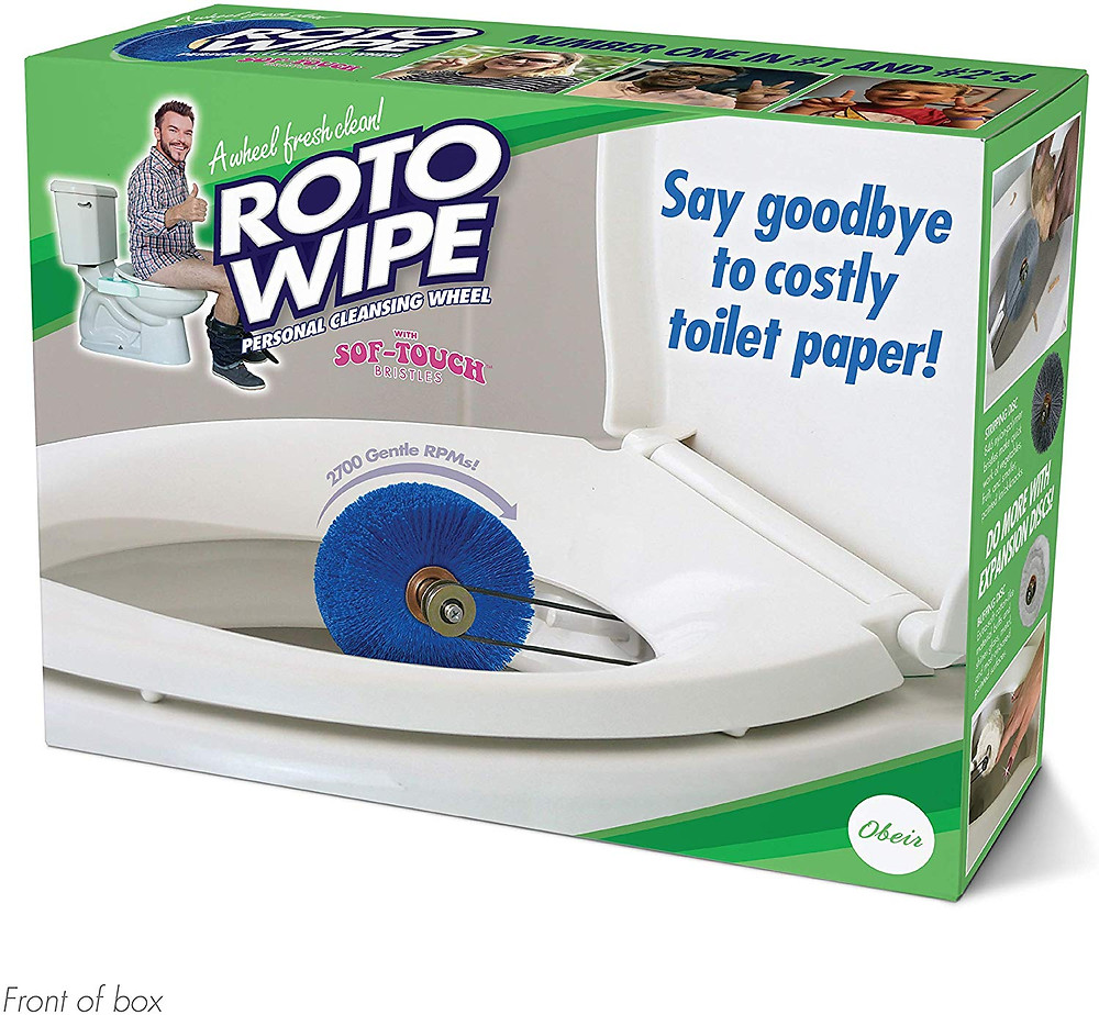Roto Wipe Cleansing wheel