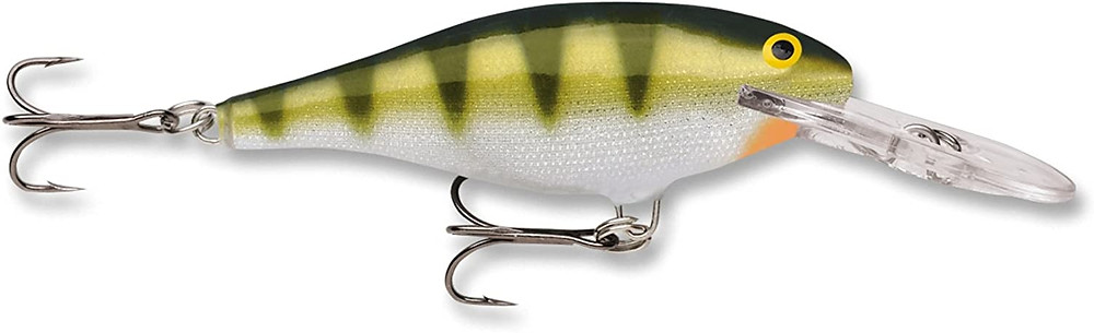Rapala shad rap fishing lure yellow perch color
