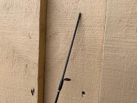 broken tip of fishing rod