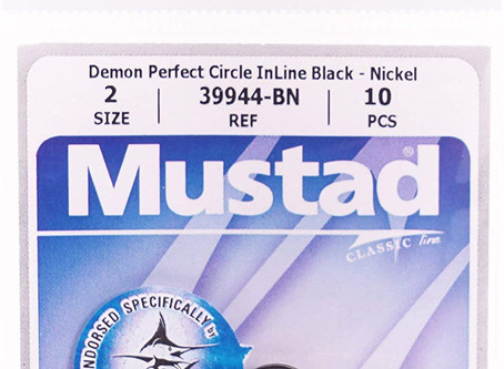 Best Florida Peacock Bass Live Bait Circle Hook - Mustad 3944-BN