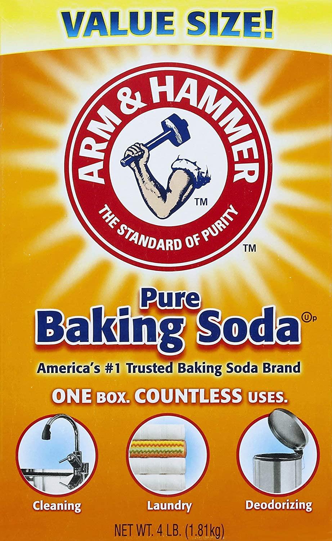 Arm & hammer pure baking soda 4.LB.