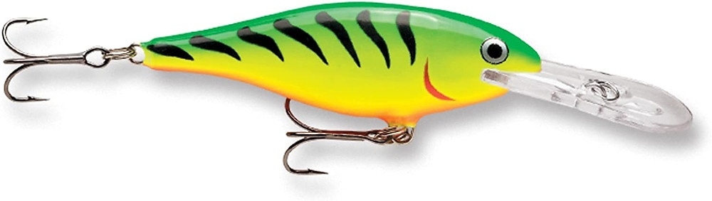 Rapala shad rap fishing lure fire tiger color