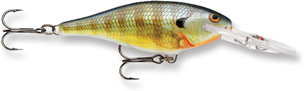 Rapala shad rap fishing lure bluegill color