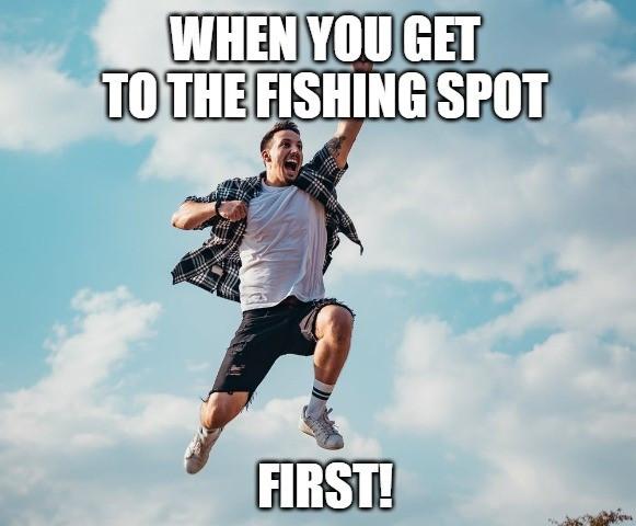 funny fishing meme 2020