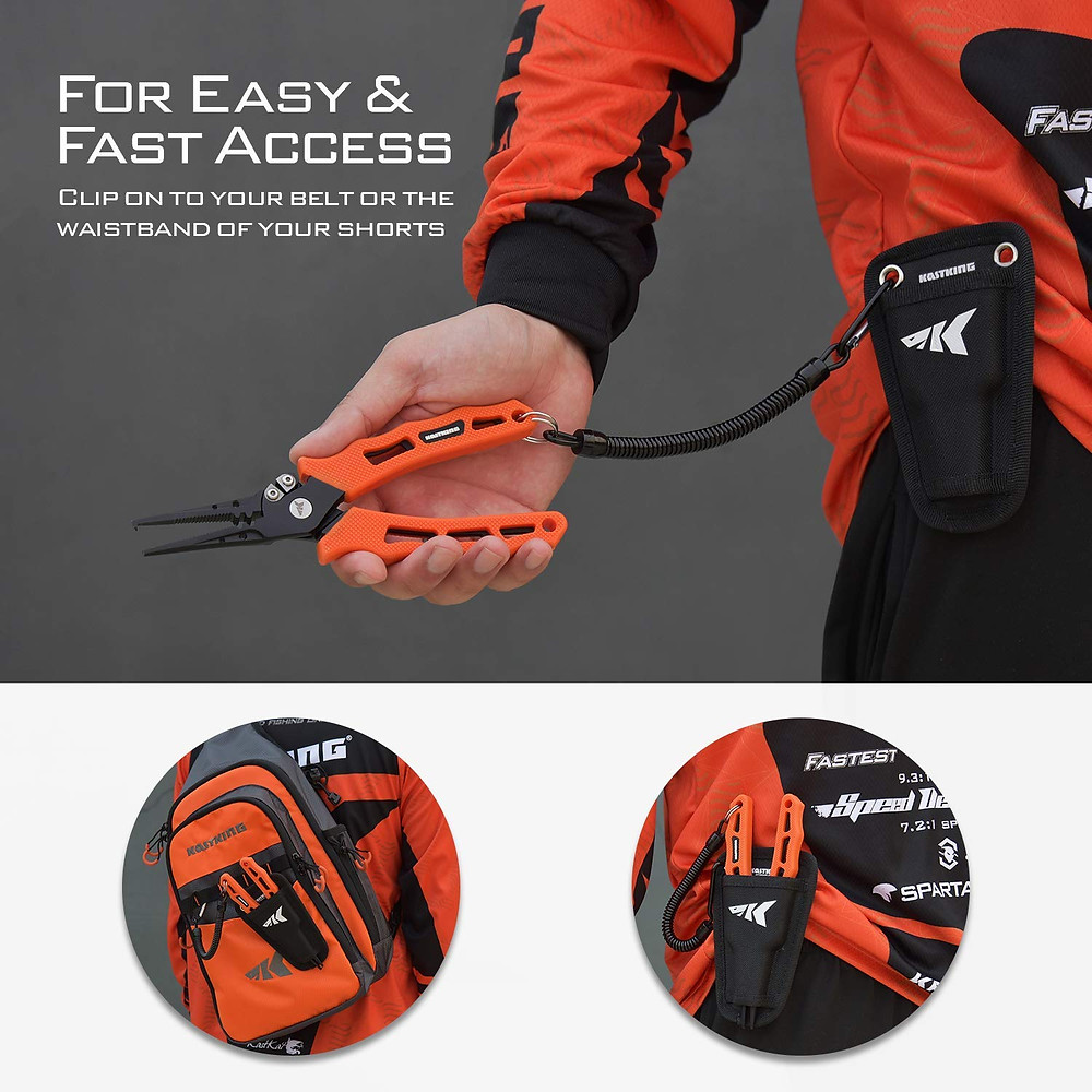 "KastKing Cutthroat 7"" Fishing Pliers review"