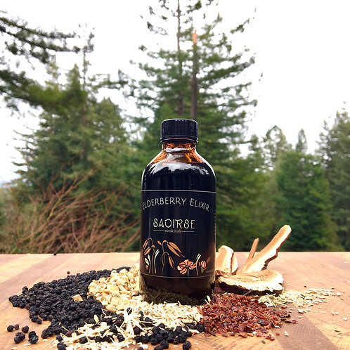 Adaptogenic Elderberry Elixir