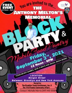 BLOCK PARTY FLYER PICTURE