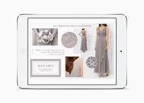 Mink Grey bridesmaid trend on the Kaliko website