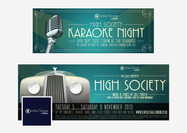 Design for promotional events posted on social media