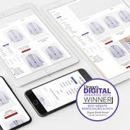 Award Winning Jacques Vert Group Website Redesign