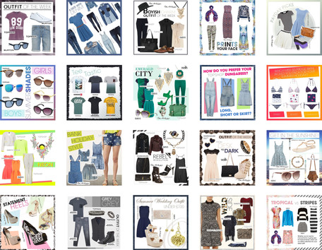 Collection of posts published on Outfit's social media channels