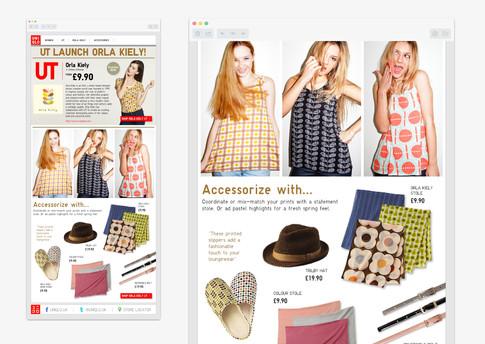 Orla Kiely Trend email
