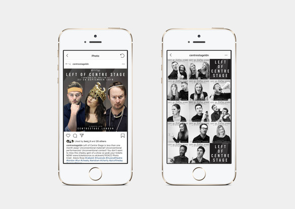 Social media photography content design