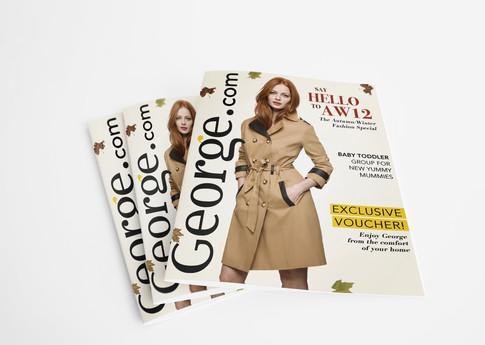 George.com printed magazine