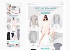 Spring Sports Luxe trend email
