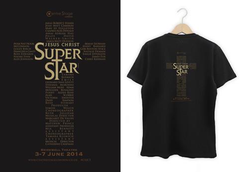 Promotional cast t-shirt design