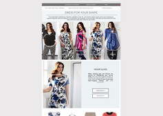 Dress for your shape, fashion guide on the Windsmoor website