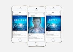Social media promotional posts