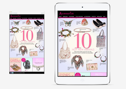 Top 10 New arrivals product email January 2011