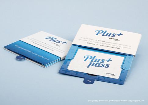Plus Burgopak loyalty card design
