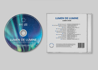 CD and back cover design
