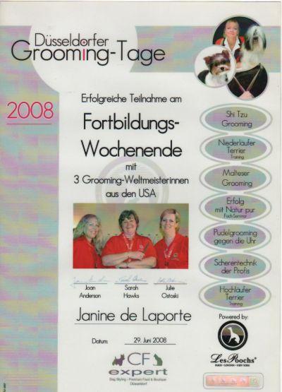 Düsseldorfer Groomingtage 2008