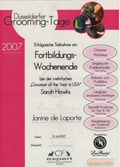 Düsseldorfer Groomingtage 2007