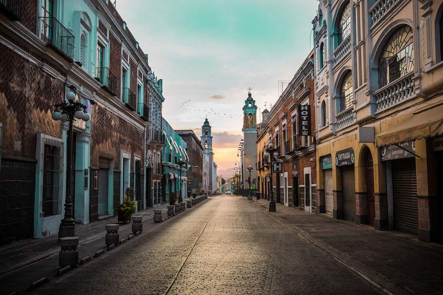 Puebla, Colonial City.