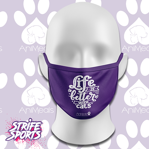 AniMeals  Mask Life is Better with a Cat