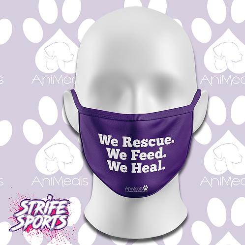 AniMeals We Rescue Mask