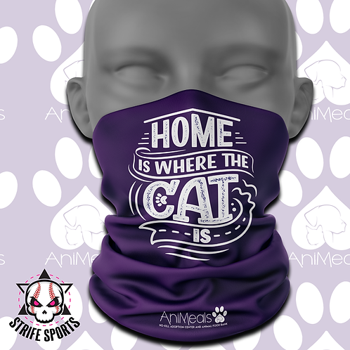 AniMeals Gaiter Home is where the cat is