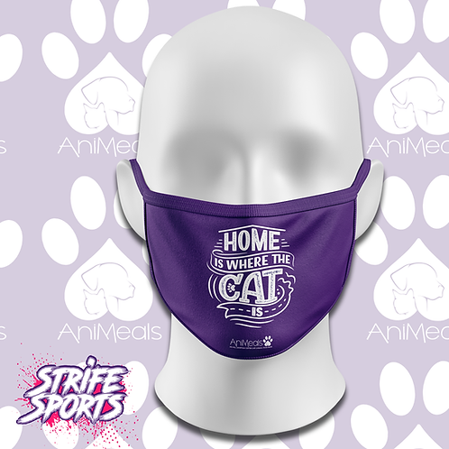 AniMeals  Mask Home is where the cat is