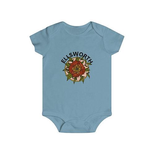 Ellsworth Flower Infant Rip Snap Tee