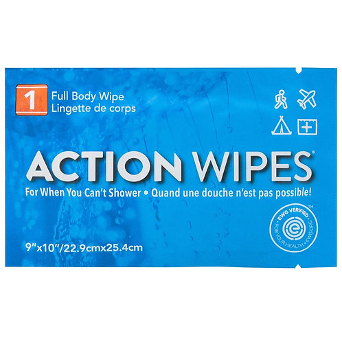 ACTION WIPES FOR ALL FIRE FIGHTERS AND FIRST RESPONDERS