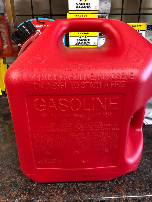 MID- WEST 5600 RED GAS CAN 5 GAL.