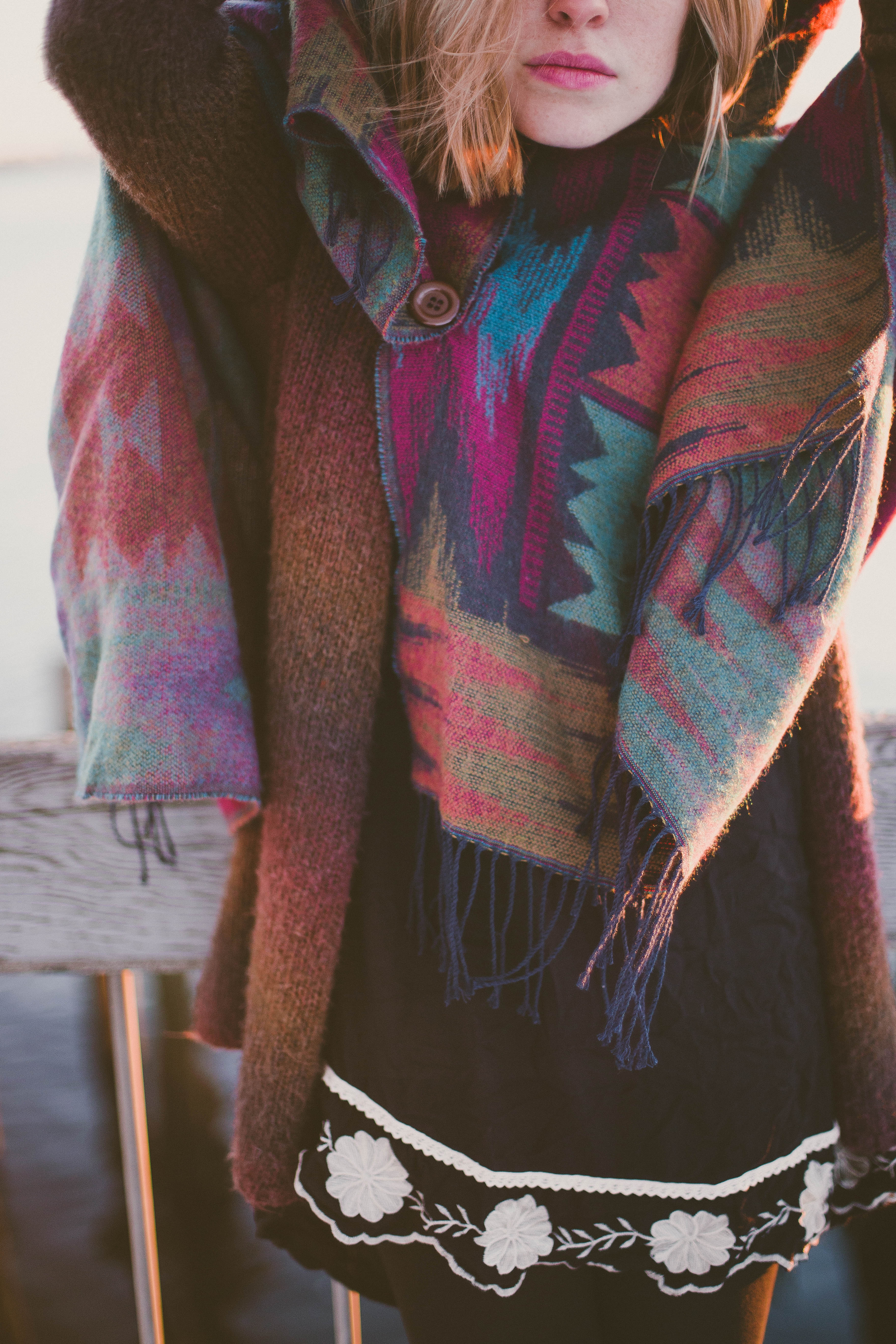Coloful Poncho