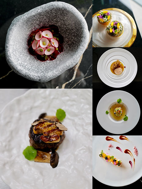 6-course L'Arome by the sea