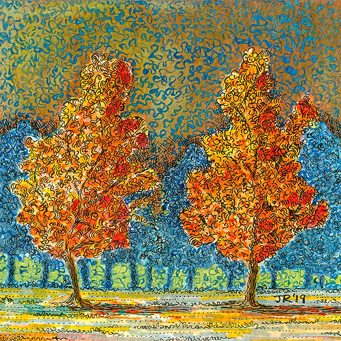 'Fire Trees'