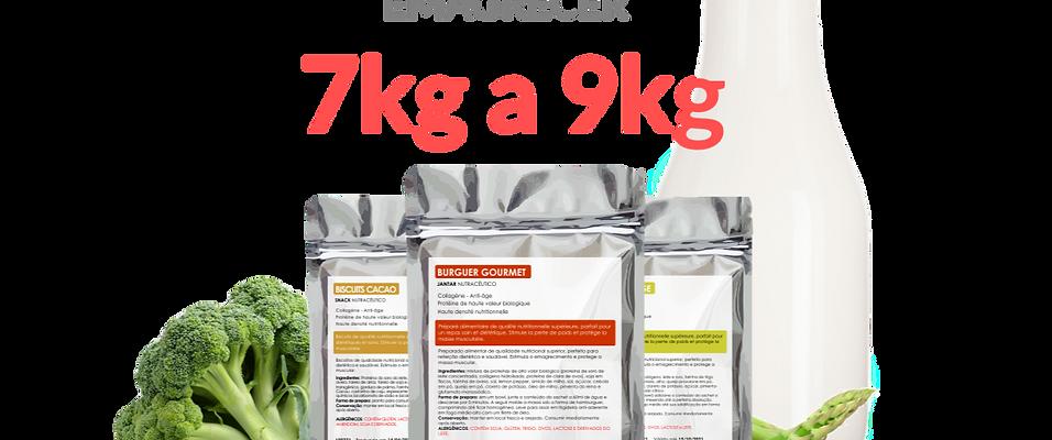 EMAGRECER DE 7kg A 9kg