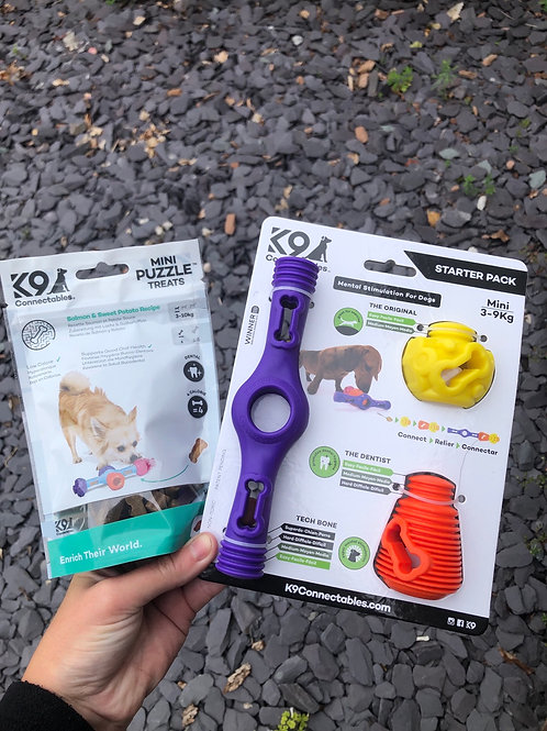 K9 Connectables Mini Starter Pack & Treats