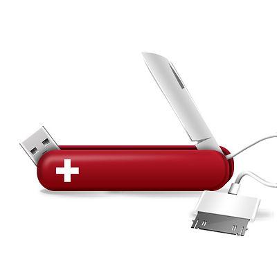 Tech Knife Red
