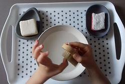 montessori se laver les mains