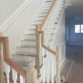 Painting of a New Residential Home