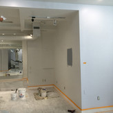 Painting the Interior of a Retail Store