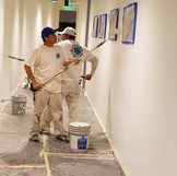 Painting Interior office walls