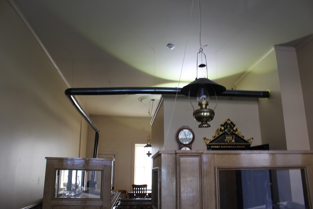 The Bank room at the Northfield Historical Museum